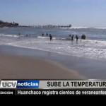Huanchaco registra cientos de veraneantes a diario