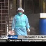 Cierran puestos de venta para limpieza en La Hermelinda