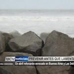 En abril reforzarán enrocado en Buenos Aires y Las Delicias