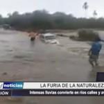 Piura: Intensas lluvias convierten en ríos calles y avenidas