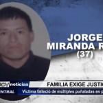 Familia de reo asesinado exige justicia