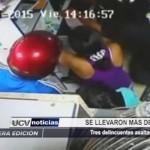 Piura: Delincuentes asaltan librería y se llevan cuatro mil soles