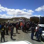 Pobladores heridos tras desalojo de campamento en Quiruvilca
