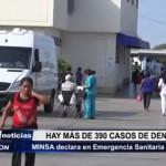 MINSA declara en emergencia sanitaria a Trujillo