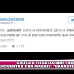 """Gisela a Tilsa Lozano tras encuentro con Magaly: """"Ganaste"""""""