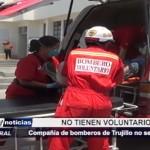 Compañía de Bomberos de Trujillo convoca a voluntarios