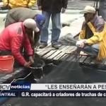 Gobierno Regional capacitará a criadores de truchas