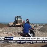 Vásquez Llamo pedirá prórroga para labores de enrocado en Buenos Aires