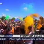 "Pilsen Trujillo lanza campaña ""Primavera Color Fest"""