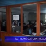 Informe de Contacto: Empleado de la MPT se premió con gratificación
