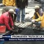 Gobierno Regional capacita a piscicultores del ande