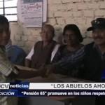 Piura: Pensión 65 promueve en los niños respeto a los ancianos