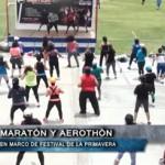 Maratón y aerothón en marco de Festival de la Primavera