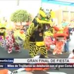 Trujillo: Miles de personas se deleitaron con el gran Corso Primaveral