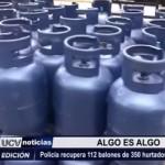 Policía recupera 112 balones de 350 hurtados el fin de semana