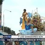 Trujillo: Club de Leones premia a ganadores del XV Festival de la Primavera