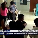 Trujillo: IREN Norte realiza actividades de concientización contra el cáncer