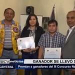 Trujillo: Premian a ganadores del III Concurso Nacional de Poesía