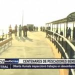 Puerto Morín: Ollanta Humala inspeccionó trabajos en desembarcadero
