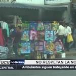 Trujillo: Vendedores ambulantes siguen trabajando en avenida España