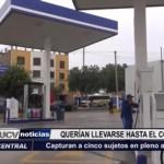 Trujillo: Capturan a cinco sujetos en pleno asalto a un grifo