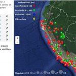 Conoce los movimientos sísmicos del Perú durante el 2016