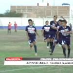 Copa Perú: Juventud Unida perdió 0 – 1 ante Alianza Guadalupe