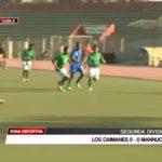Los Caimanes empataron 0-0 con Mannucci