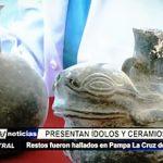 Huanchaco: Presentan cerámica Chimú hallada en Pampa La Cruz