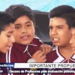 Trujillo: Decano de Profesores pide evaluación psicológica para docentes