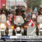 Trujillo: Autoridades e instituciones participaron en Desfile Cívico Militar