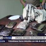 Piura: Detienen a colombianos con más de seis kilos de marihuana