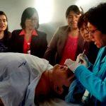 UCV capacita a sus docentes de enfermería en el uso del único simulador clínico de la región