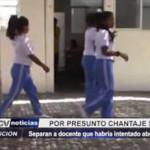 Piura: Separan de colegio a docente que habría intentado abusar de menor