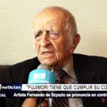 Trujillo: Fernando de Szyszlo dijo que Fujimori tiene que cumplir su condena