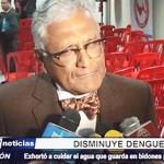 La Libertad: Luis Arteaga Temoche manifestó que casos de dengue disminuyeron