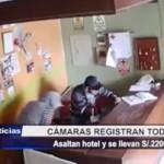 Piura: Asaltan hotel y se llevan 2 mil 200 soles