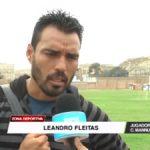Mannucci: Fleitas podría regresar a la profesional