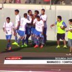 Segunda División: Mannucci venció 3-1 a Cantolao