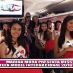 Marina Mora presenta Miss Teen Model Internacional 2016