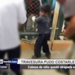 Piura: Travesura pudo costarle la vida a niño
