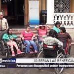 Trujillo: 80 personas con discapacidad serán beneficiadas en el ámbito laboral
