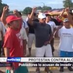 Iquitos: Pobladores acusan a alcalde de invadir zona pública