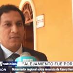 La Libertad: Valdez dio detalles sobre renuncia de Kenny Heredia a Chavimochic