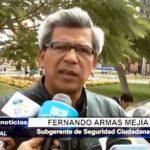 Trujillo: Subgerene de Seguridad Ciudadana habla sobre agresión de PNP
