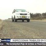 Huanchaco: Autoridades regionales inspeccionaron trabajos en Costanera