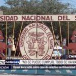 Chimbote: Daniel Mora habla sobre caso de exrectora Universidad Nacional del Santa