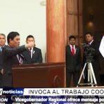 La Libertad: Julio Miyamoto ofrece mensaje por Fiestas Patrias