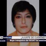 La Esperanza: Mujer trabajadora del SEGAT fue asesinada a balazos