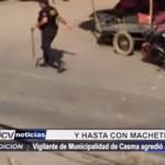 Áncash: Vigilante de Municipalidad de Casma agredió a mototaxista